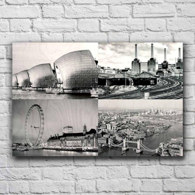 38cm x 25cm Four Picture Collage