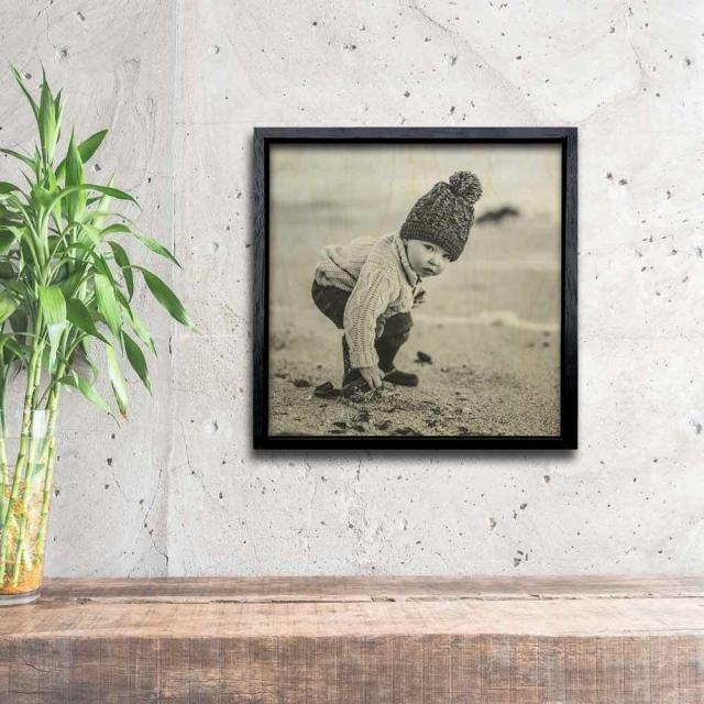 Framed 15x15cm
