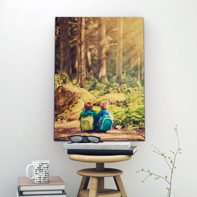 38cm x 58cm Photo Print On Wood