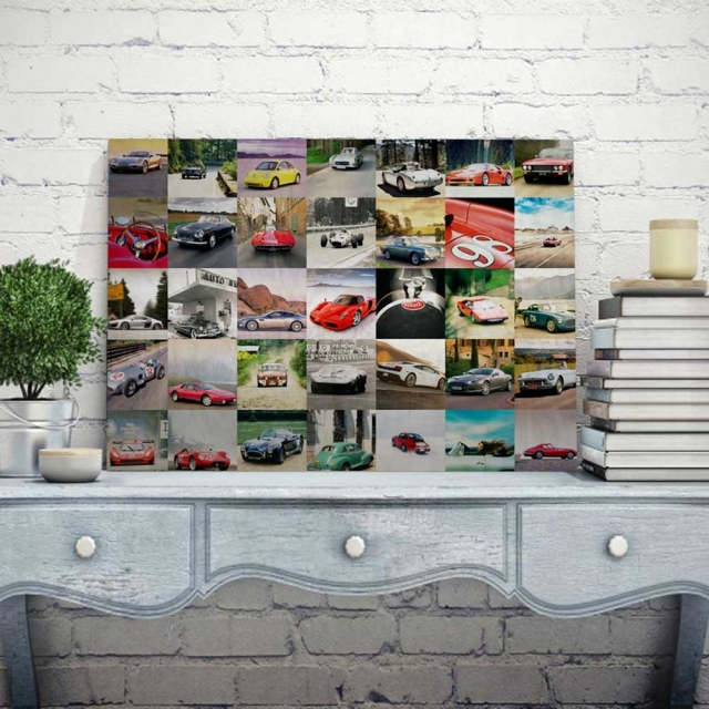 58cm x 38cm Thirty Five Picture Collage