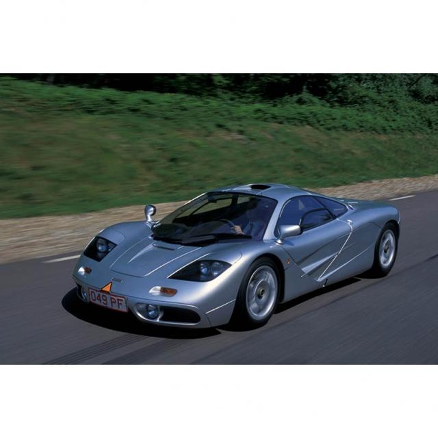 """15"""" x 10"""" 1994 McLaren F1 Sports Car"""