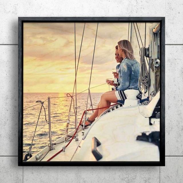 Framed 50x50cm