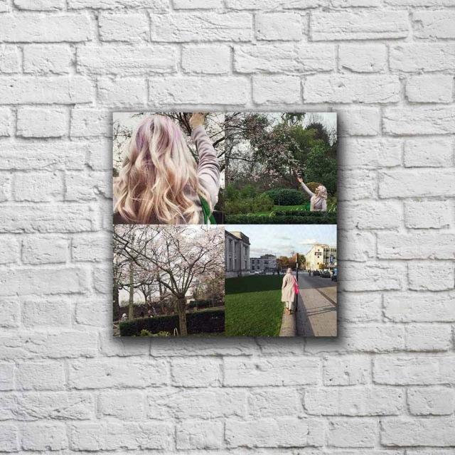 15cm x 15cm Four Picture Collage