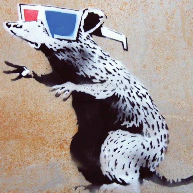 Banksy 3D Rat