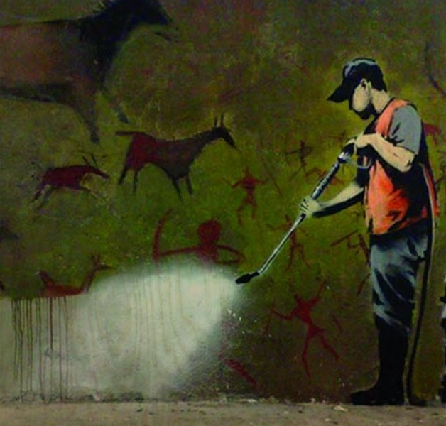 Banksy Street Cleaner