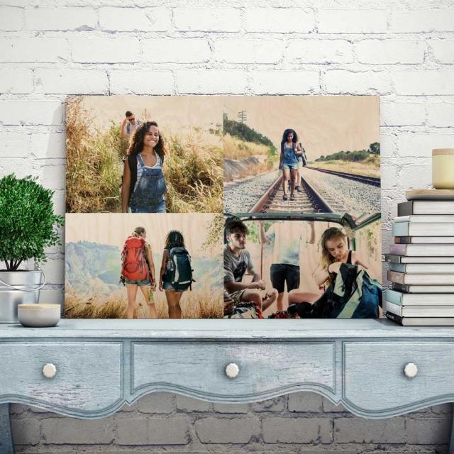 58cm x 38cm Four Picture Collage