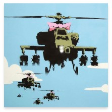 Banksy Helicopter