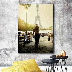 45cm x 61cm Photo Print On Wood