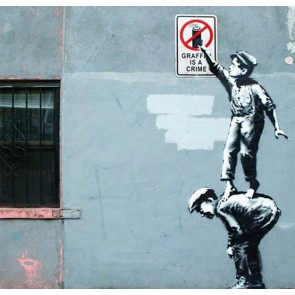Banksy Graffiti Is a Crime