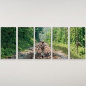 "10"" x 20"" Wood print"