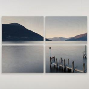58cm x 38cm x4 Print On Wood