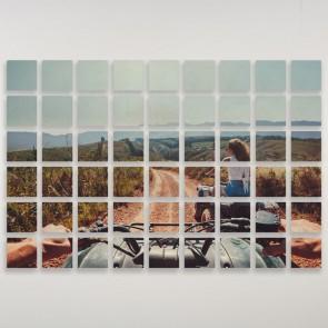 "6"" x 6"" 54 Panel Custom Wood Prints"