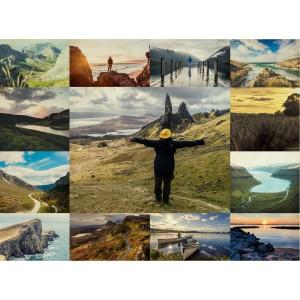 60cm x 45cm Thirteen Picture Collage
