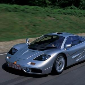 38cm x 25cm 1994 McLaren F1 Sports Car
