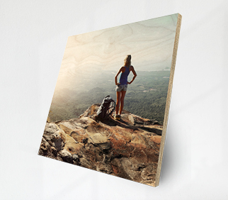 Collection of inspirational images, printed on Wood