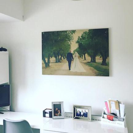 28 inch x 20 inch wedding office print